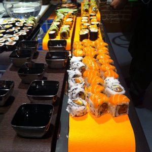 Mesa de Sushi - Catering domicilio Madrid