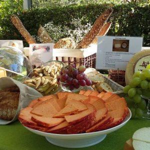 Mesa quesos del evento csic mesa de temporada madrid