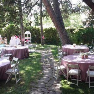 catering comuniones aire libre Mesa de Temporada madrid